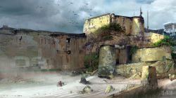 sdcc-2014-halo-2-anniversary-zanzibar-concept-art-fortress-walls