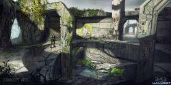 gamescom-2014-halo-2-anniversary-multiplayer-sanctuary-concept-fight-pit