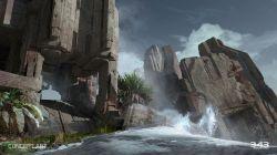 gamescom-2014-halo-2-anniversary-multiplayer-sanctuary-concept-cliff