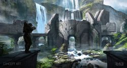gamescom-2014-halo-2-anniversary-multiplayer-sanctuary-concept-new-dawn