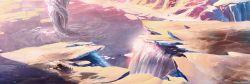 Halo Spartan Assault Concept - Frozen Tornado