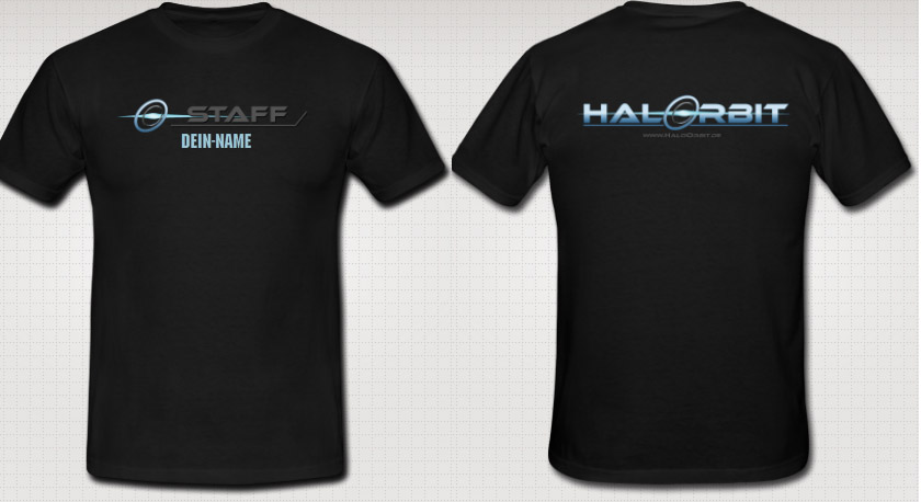 HaloOrbit Staff Shirt