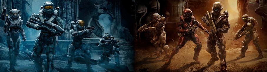 Die Rüstungen der spielbaren Hauptcharaktere von Halo 5: Guardians im Überblick