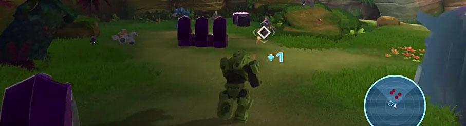 Videomaterial zeigt eingestelltes Mega Bloks Halo Videospiel *update*